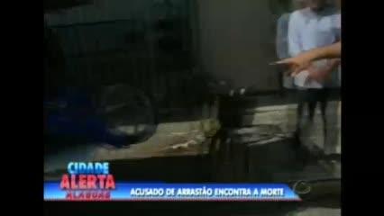 Bandidos fizeram arrastão na fila do SINE, na manhã desta terça-feira
