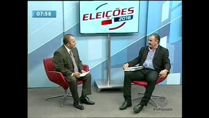 Entrevista com o candidato à Prefeitura de Maceió, Cícero Almeida