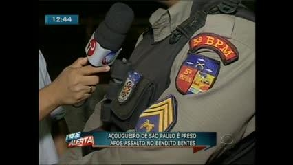 Uma jovem foi assaltada por três homens na noite de ontem no Benedito Bentes