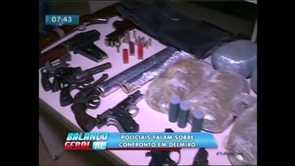 As Polícias Civil e Militar realizaram operação no sertão do estado