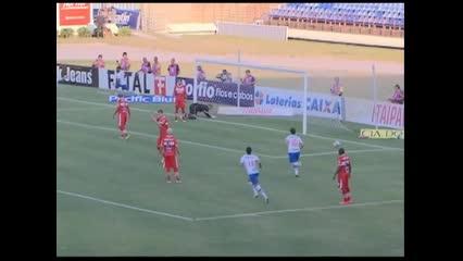 Gol de Allano - CRB 0 x 1 Bahia