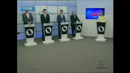 A TV Pajuçara realizou o primeiro debate da TV aberta entre candidatos à Prefeitura de Maceió