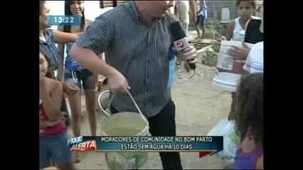 Moradores de comunidade no Bom Parto estão sem água há 10 dias