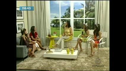 Recebemos no Bem Você várias representantes de Alagoas em concursos de beleza
