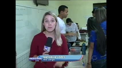 Uma iniciativa tem levado o conhecimento cientifico para alunos de algumas cidades de Alagoas