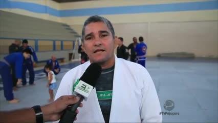 """O mestre """"Zé Radiola"""" realizou seminário para atletas de jiu-jitsu em Maceió"""