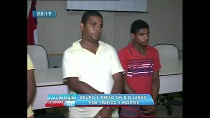 Sete homens foram presos durante operação contra o tráfico de drogas e homicídios