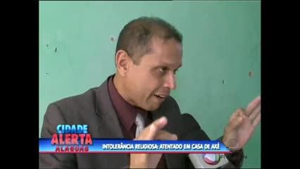 Casa de Axé foi visitada hoje pelo promotor Flávio Gomes após atentado