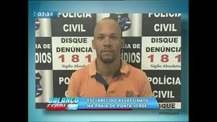 Homem de 20 anos morto na praia de Ponta Verde foi uma vingança