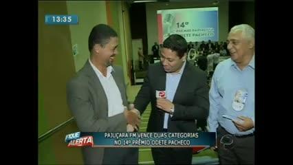 A Rádio Pajuçara FM foi destaque no Prêmio Radialista Odete Pacheco