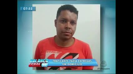 A polícia de Marechal Deodoro prendeu um suposto traficante