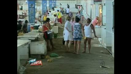 O MPE pediu interdição do Mercado da Produção no bairro da Levada