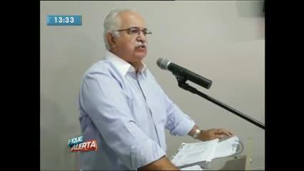 Prefeito de Arapiraca concedeu entrevista coletiva hoje pela manhã