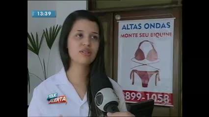 Bronzeamento com fita adesiva vira febre em Maceió