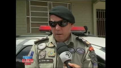 Polícia apreendeu maconha, arma e munições na Vila Brejal