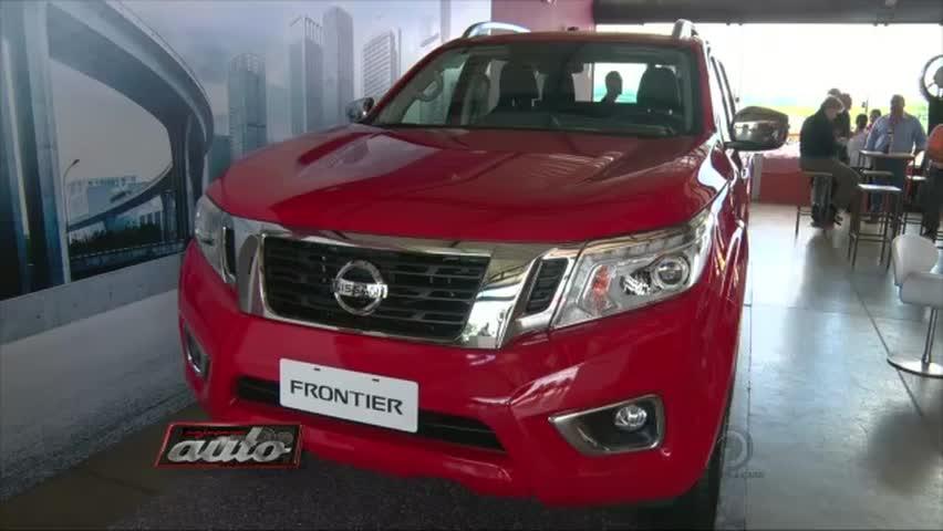 Conheça a nova Nissan Frontier