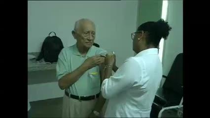Segunda etapa de vacinação contra a gripe em Maceió