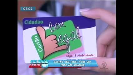 Cartão Bem Legal pode ser feito em posto itinerante no Centro de Maceió
