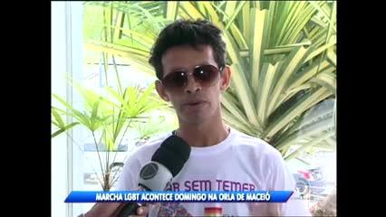 Marcha LGBT acontece domingo na Orla de Maceió
