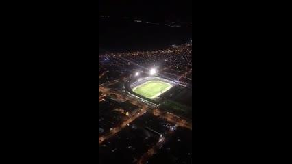 CSA x Tombense: imagens aéreas do Estádio Rei Pelé