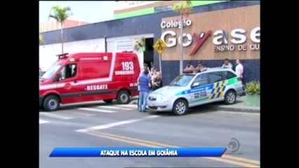 Ataque na escola em Goiânia