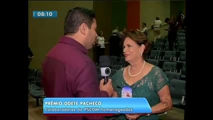 Ontem aconteceu a XV edição do Prêmio Odete Pacheco