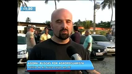 Polícia intensifica buscas pelo corpo do agropecuarista Cristóvão Rodrigues