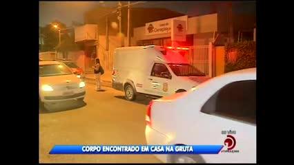 Corpo foi encontrado em casa na Gruta de Lourdes