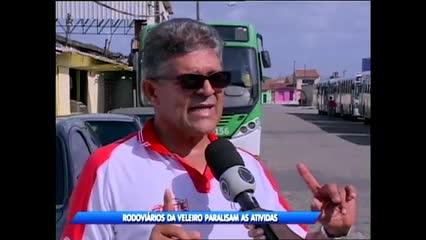 Rodoviários da Veleiro paralisaram atividades em Maceió