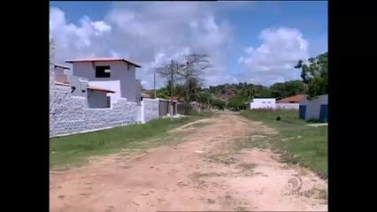 Clima de medo em Tabuba no litoral norte de Alagoas