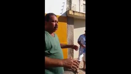 Morador relata consequências de tremor de terra em casa no Pinheiro
