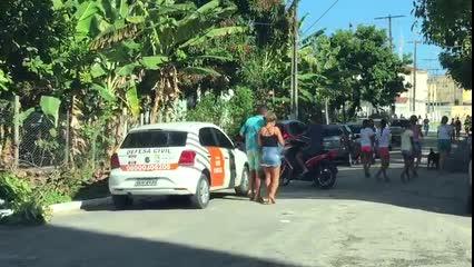 Defesa Civil chega ao Pinheiro após tremor de terra neste domingo em Maceió