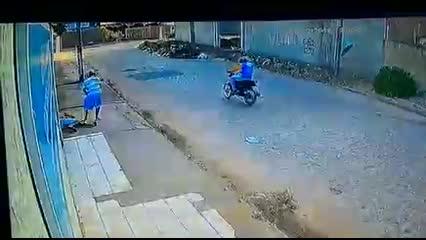 Imagens de circuito de segurança registram homicídio em Arapiraca