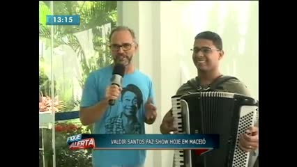 Cantor pernambucano faz show hoje em Maceió