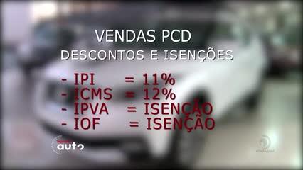 Vendas de carros com desconto para PCD crescem 35%