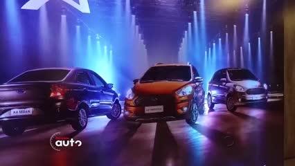 Test Drive: Ford Ka Sedan 2019