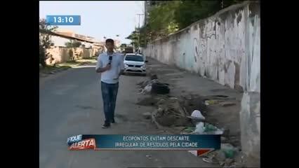 O recorrente problema do descarte irregular de lixo em Maceió