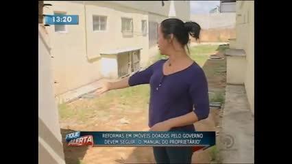 As construções ilegais podem trazer riscos a segurança dos moradores