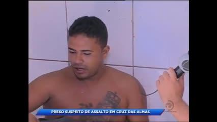 Homem foi preso suspeito de assalto na parte baixa de Maceió