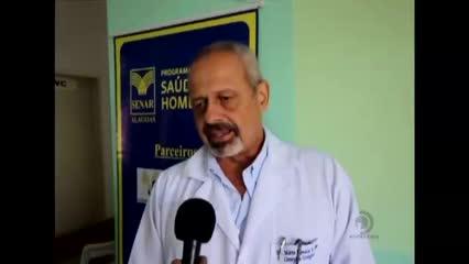 População de Cajueiro participa do programa Saúde do Home e Saúde da Mulher