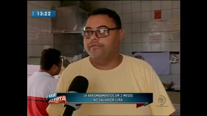 Comerciantes do Salvador Lyra sofrem com a violência na região