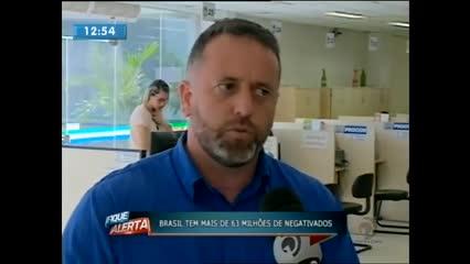 Mais de 40% dos brasileiros fecharam o mês de julho com o nome negativado
