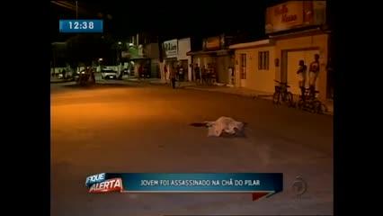Jovem de 18 anos foi assassinado na Chã do Pilar