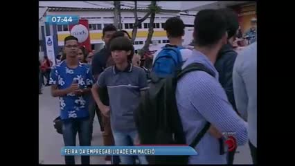 Acontece hoje em Maceió a Feira da Empregabilidade