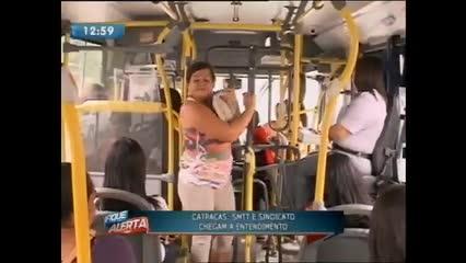Catracas nos coletivos de Maceió serão modificadas