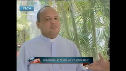 Arquidiocese de Maceió vai sortear carro dia 27