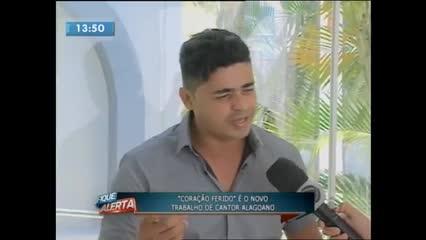 """""""Coração Ferido"""" é o novo trabalho de cantor alagoano"""