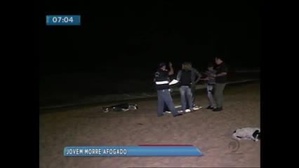 Jovem de 16 anos morreu afogado na praia de Cruz das Almas