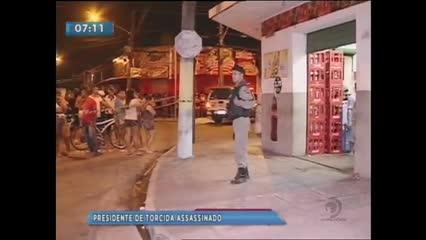 Presidente da Mancha Azul foi assassinado com vários tiros