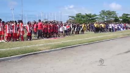 Abertura do 30º Campeonato Infantil de Futebol do Sesi